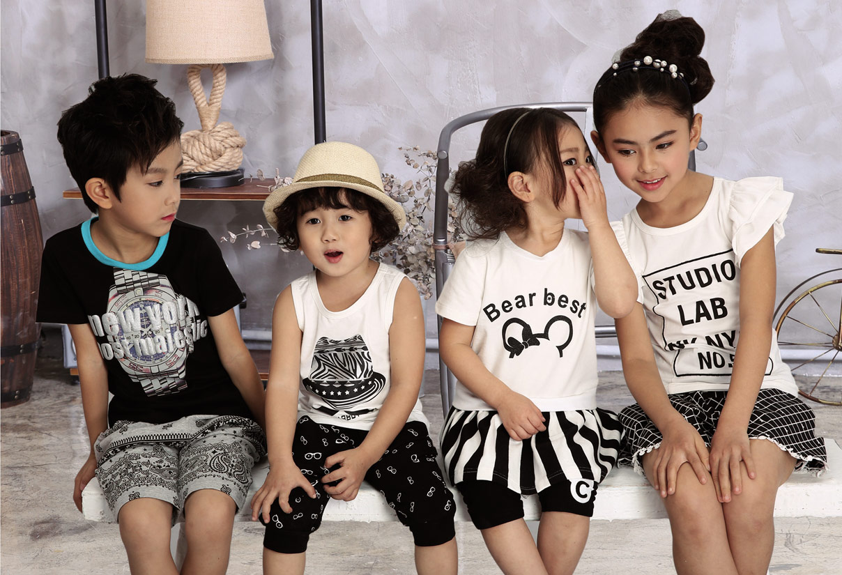 中国童装闪耀之星-小熊B琪