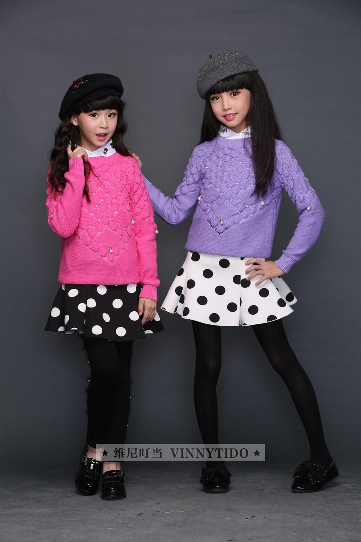 童声童色公司维尼叮当童装秋季新品上市