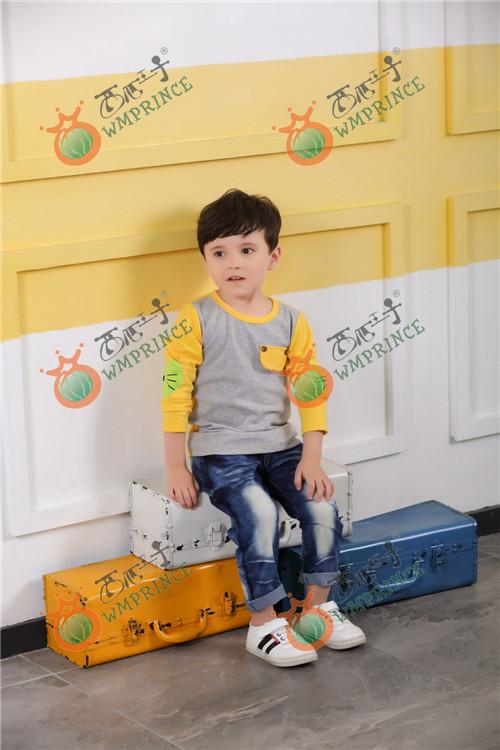 西瓜王子童装加盟店,时尚的儿童服装品牌