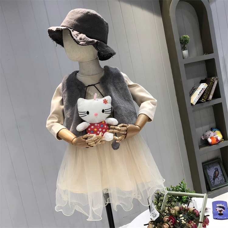 杭州童装批发市场妞布衣坊品牌折扣童装一手货源批发