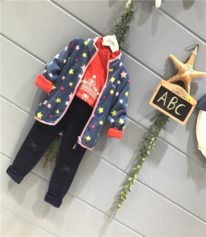 深圳ABC2019新款童装加绒外贸原单童装