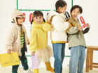 免加盟费,全方位货柜支持 爱儿健童装诚邀加盟!