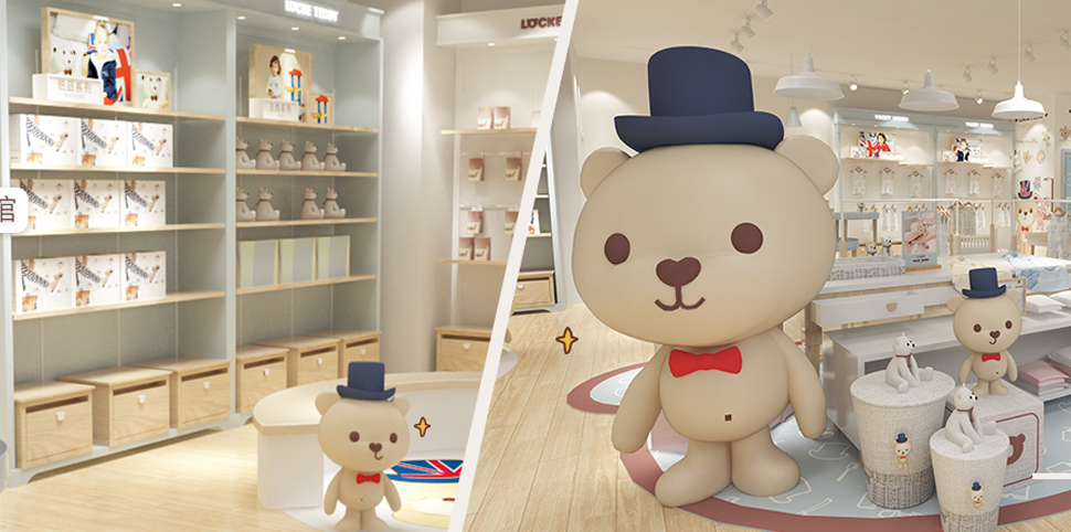 GB泰迪熊形象图
