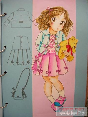 超级可爱的手绘童装(三)
