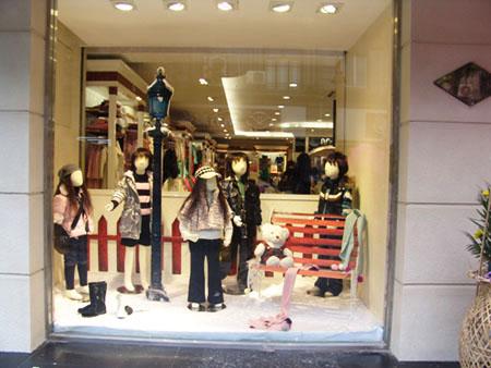 韩国童装店装修图片