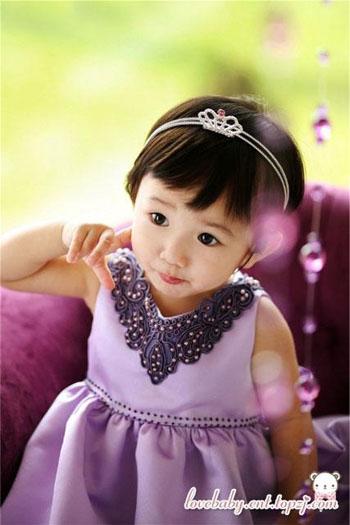 韩版可爱童装塑造超人气宝宝