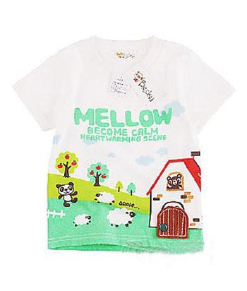 可爱儿童夏日时尚t恤_服装设计 - 中国童装网