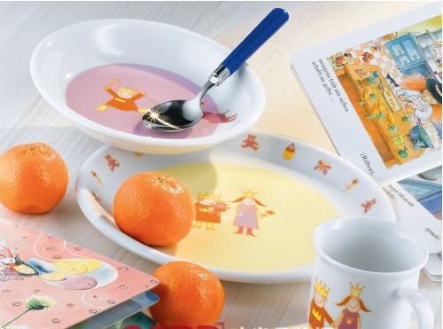 可爱印花 arzberg儿童餐具