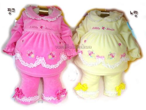 09秋冬韩国婴儿套装新品——可爱动物图案专题