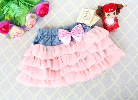 粉红色裙系列 打造甜美可爱小公主