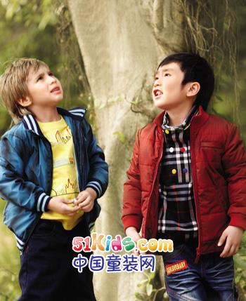 沐阳童童装产品