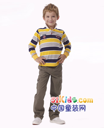 邦尼熊童装产品