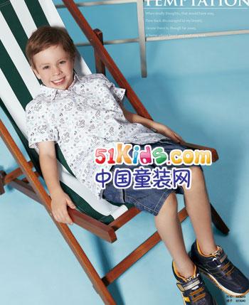 柏迪小熊童装2012春夏
