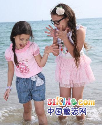 季季乐童装产品