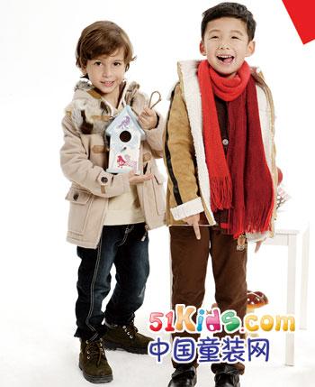 小野豹2012秋冬童装
