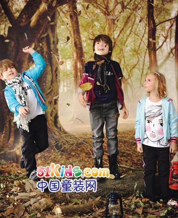 可米熊品牌2012秋冬