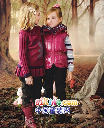 可米熊童装品牌2012秋冬