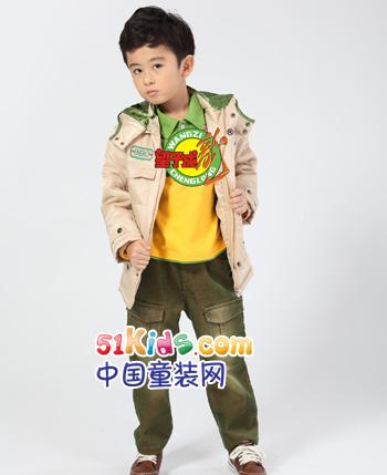望子成龙2012秋冬童装