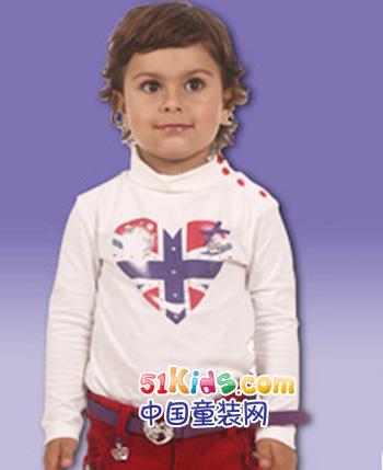 赞贝林童装产品