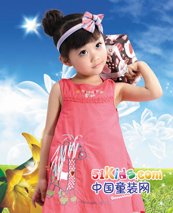 卡卡莉妮童装产品