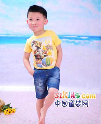 南国春天童装产品