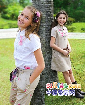 诺可可�童装产品