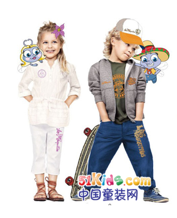 莫多多童装产品