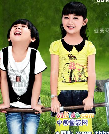 小虎憨尼童装2013