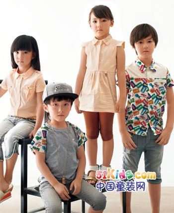 时尚小鱼童装产品