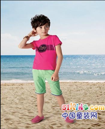 爱巴吉儿童装产品