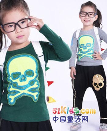 七彩威唛童装产品