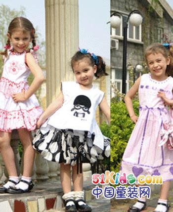 丹妮贝克童装产品