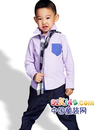 衣之上童装产品