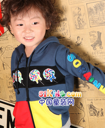 小人物童装产品图