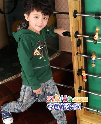 小人物童装产品