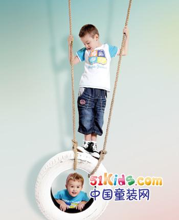河马・占尼童装产品