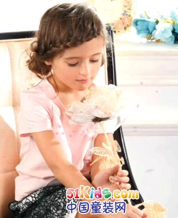 欧可'玫瑰公主童装产品