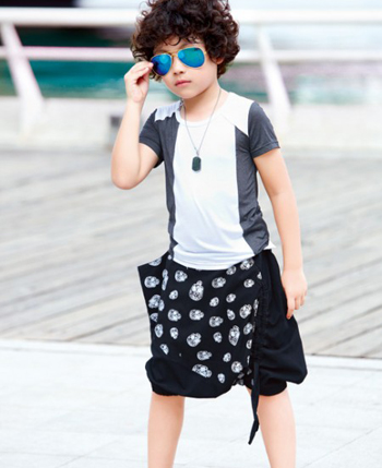 布衣班纳童装产品