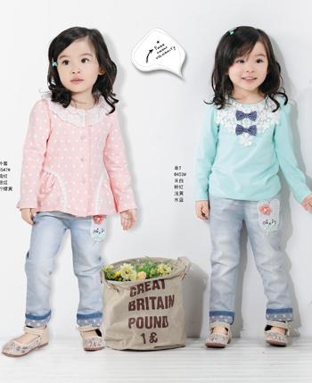 奈迪贝熊童装产品