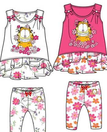 加菲猫童装产品形象图(6)