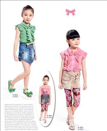 柏惠信子童装产品