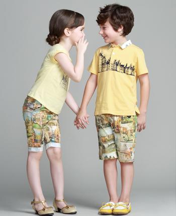 童话故事童装产品