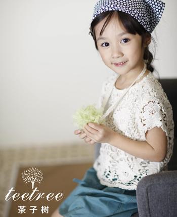 茶子树童装产品图