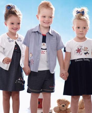 精典泰迪童装产品