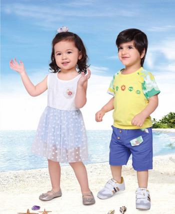 缤果贝琦童装产品