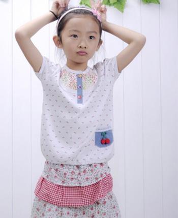 巴乐乐伊童装产品
