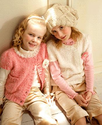 巧帛童装产品