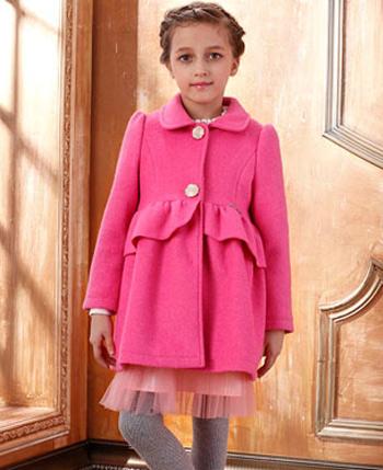 空中天使童装粉红连衣外套