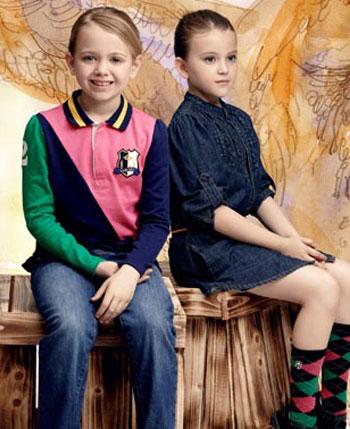 卡米尼童装产品