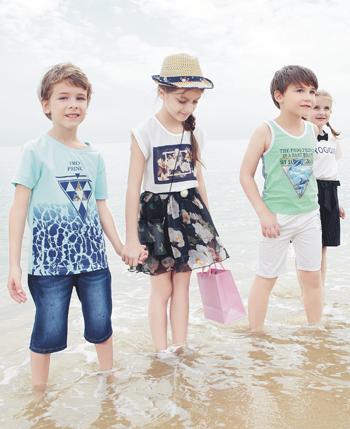 青蛙皇子2016夏款童装
